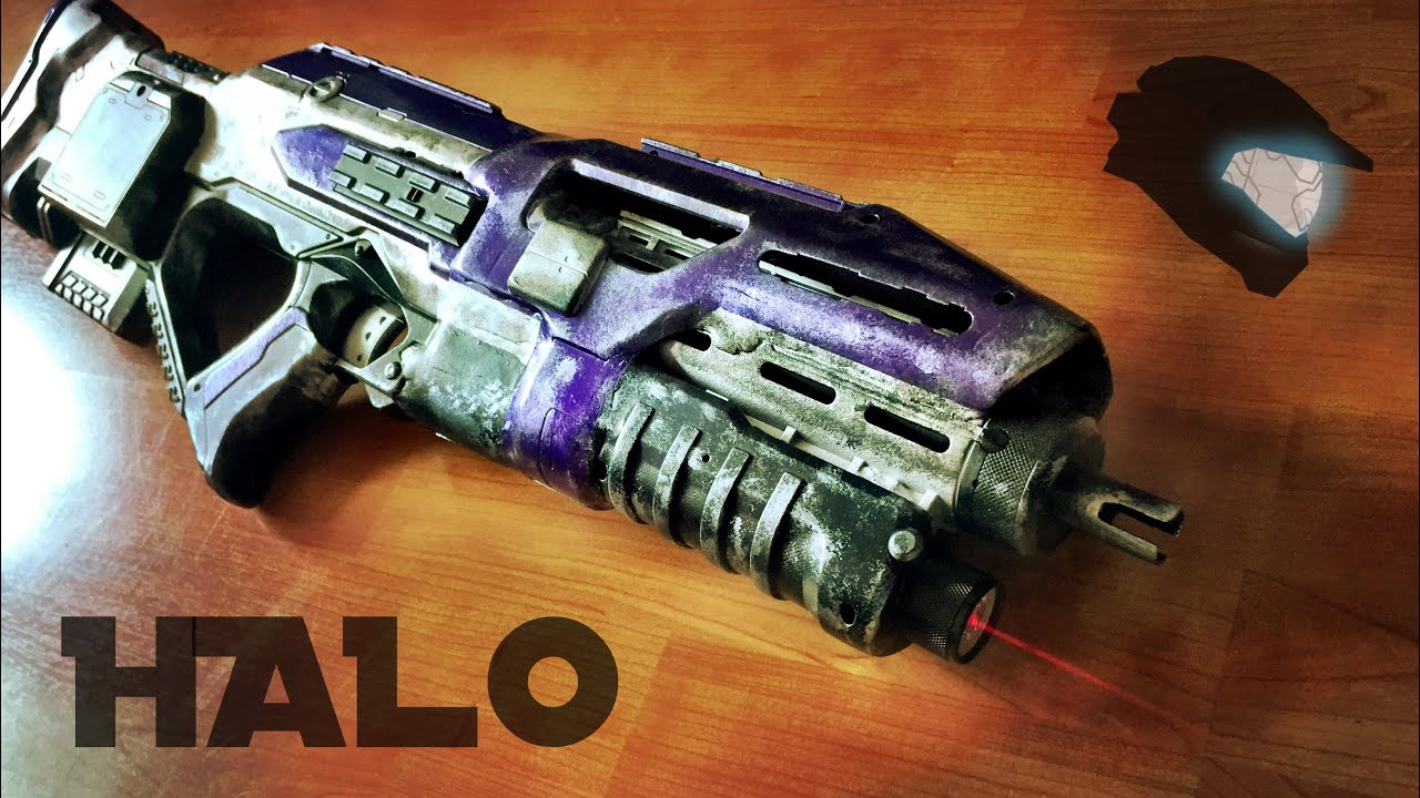 [ MUNITY] Nerf HALO Assault Rifle