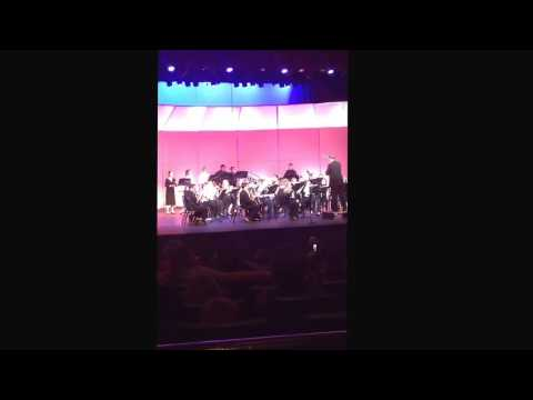 Alexandra , flautist/floutour , Queen Creek Middle School 2017 , in 3 short clips