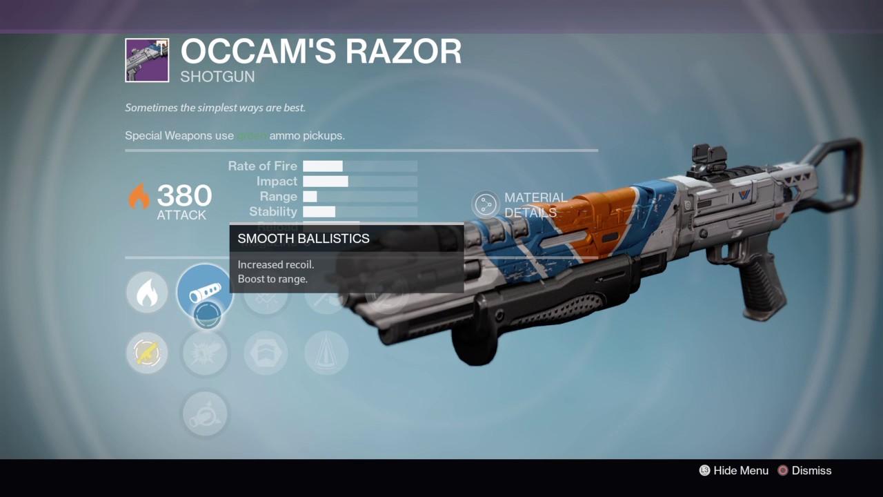 destiny: age of triumph - weapon rolls - vanguard quatermaster