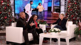 Ellen Surprises Adorable Couple with Honeymoon Fund - Extended Cut
