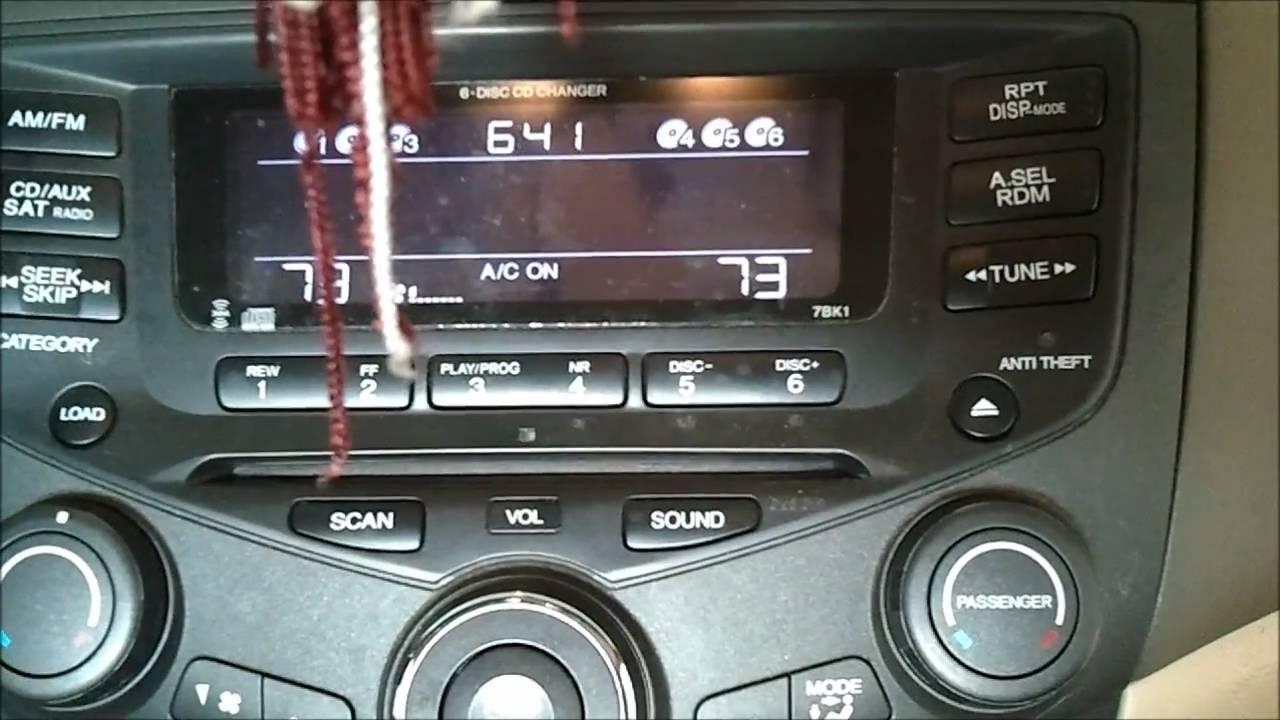 2004 Honda Cr V Radio Wiring Diagram Change An Hvac Transistor Resistor For A 01 02 03 04