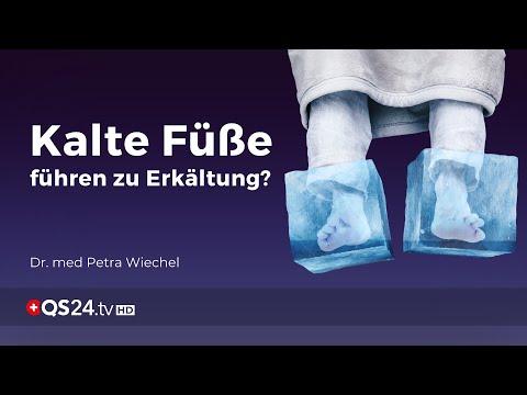 Kalte Füße führen zu einer Erkältung - Stimmt das?