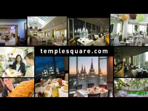Dining Options At Temple Square
