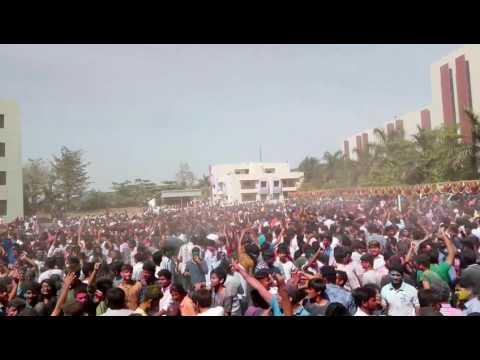 Holi celebration @ Mali ba college Bardoli