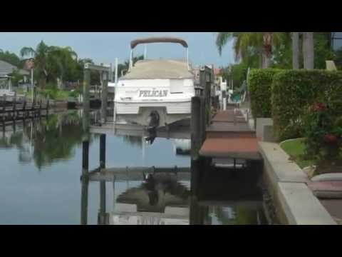 Cape Coral Florida House On Canal