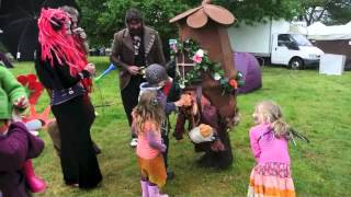 Oakwood Folk. The Grimbles visit Three Wishes Faery Festival 2013