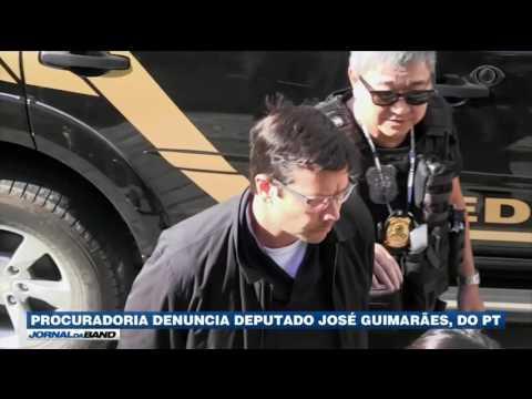 Procuradoria denuncia deputado José Guimarães, do PT