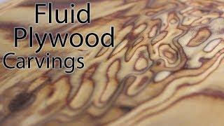How to Carve Amazing Liquid Plywood Sculptures