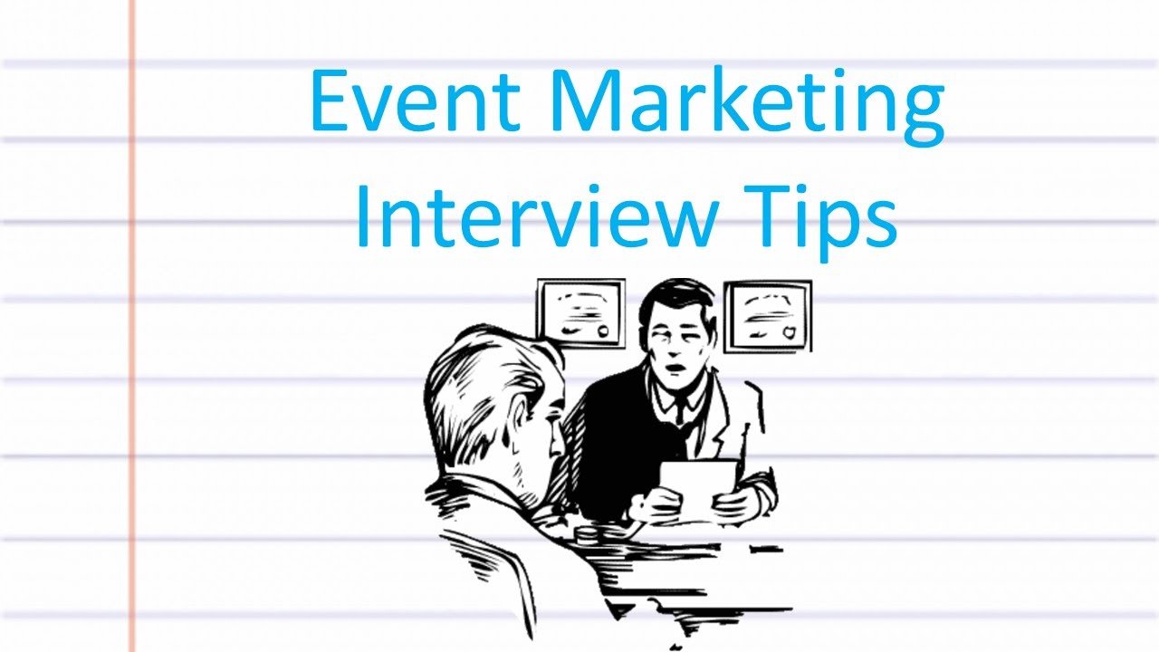 event marketing interview advice event marketing interview advice
