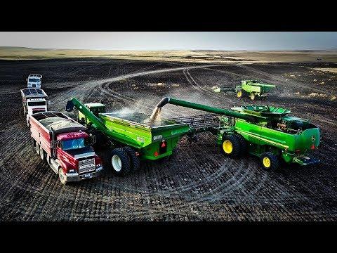 Epic Harvesting Montana Style - Part 3 - Wahl Harvest - Welker Farms Inc