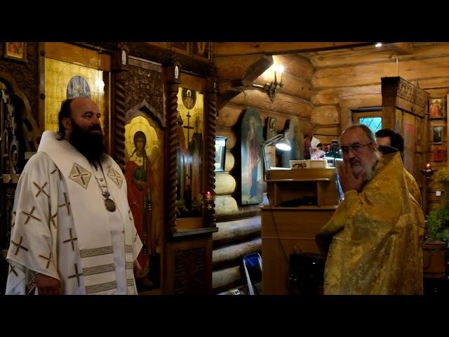 Проповедь епископа Наро-Фоминского Парамона в День Крещения Руси 28.07.2021
