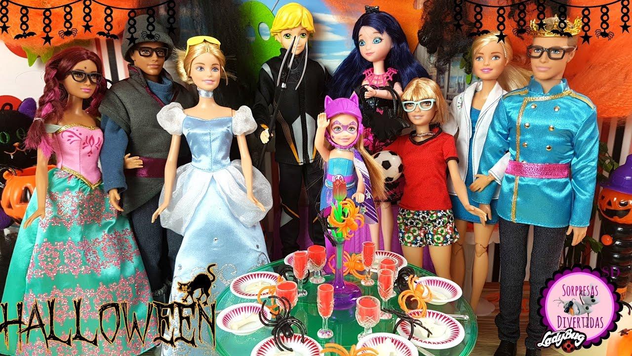 Ladybug fiesta de halloween youtube - Fiesta halloween en casa ...