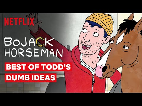 Best of Todd's Dumb Ideas | BoJack Horseman | Netflix