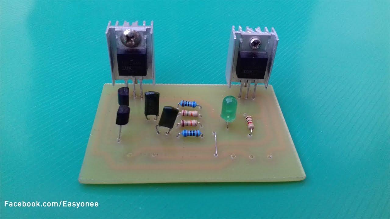 How To Make Inverter 12v 220v Circuit Build A Homemade Power 100 Watt