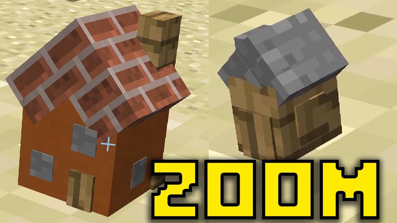 Case ancora piu 39 piccole in minecraft micro nano youtube for Case piccole e belle