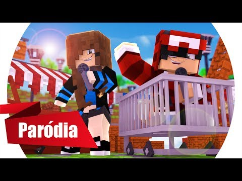 Minecraft: PARÓDIA PARADINHA (ANITTA) -  É BEM DOIDINHA! - (Minecraft Música)