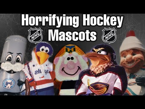 These Old Terrifying Mascots!