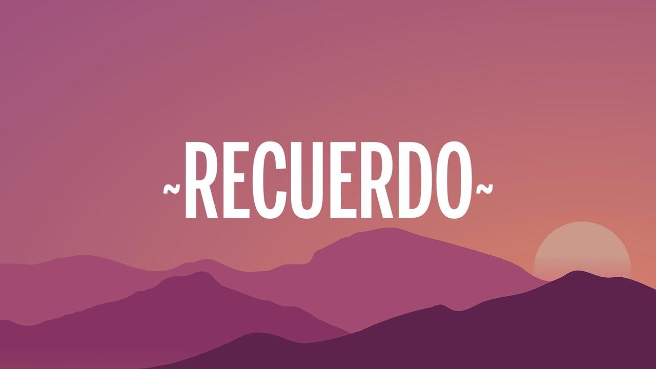 Ricky Martin, Carla Morrison - Recuerdo (Letra/Lyrics)