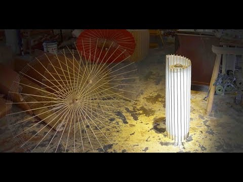 Umbrellamp - A Lamp made with traditional Oil-Paper Umbrella || Modern lamp Design