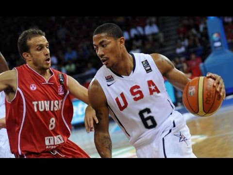 USA vs Tunisia 2010 FIBA World Basketball Championship Group Game HD 720p FULL GAME English