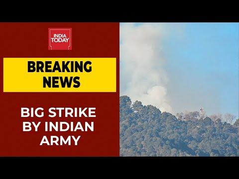 Big Strike By Indian Army On Terror Launchpads In Pakistan Occupied Kashmir | Breaking News