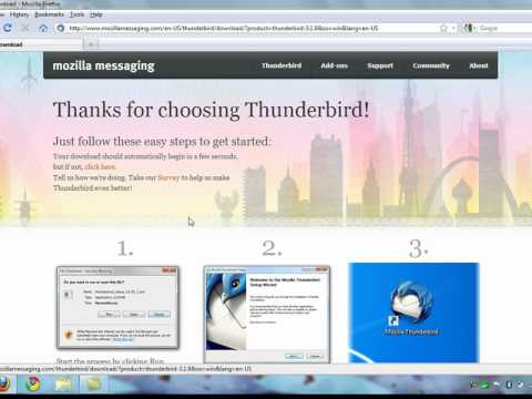 Thunderbird - Download And Install
