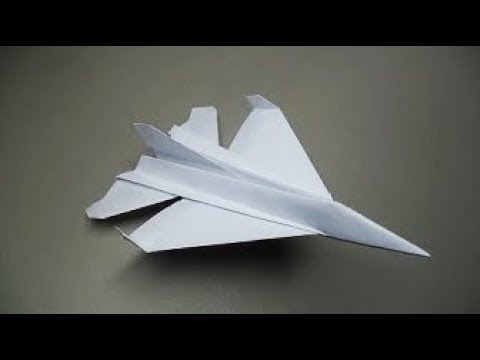 How to make a paper airplane | Awesome Powerfull paper helicopter