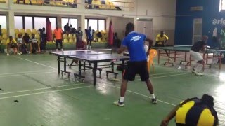 Ghana Table Tennis League - Augustine Baidu vs Joseph Osei