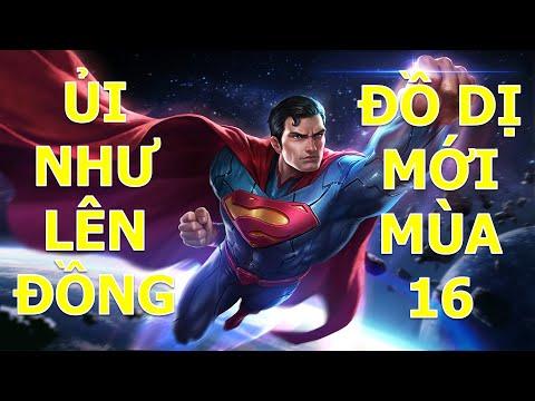 Thánh ủi Superman như lên đồng với trang bị dị mùa 16 - Cách chơi Superman hiệu quả rank cao thủ