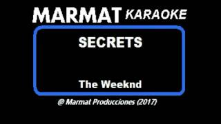 The Weeknd - Secrets - Marmat Karaoke