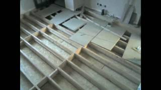 Existing build install of underfloor (water) heating