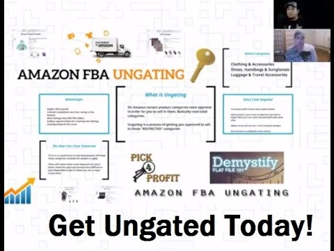 HOW TO GET UNGATED ON AMAZON FBA | RESTRICTED CATEGORIES
