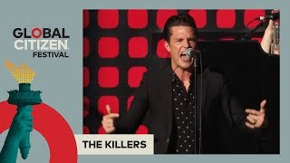 The Killers Perform 'Mr. Brightside' | Global Citizen Festival NYC 2017