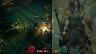 New Trailer Diablo 3 Barbarian Wizard Monk Witch Doctor Gameplay + Cinematic