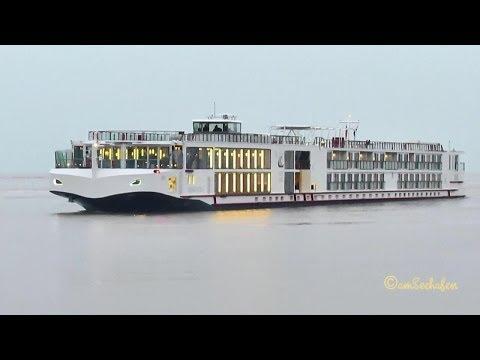 VIKING EISTLA 269057466 river cruiseliner Flusskreuzfahrer first voyage Papenburg Emden Germany