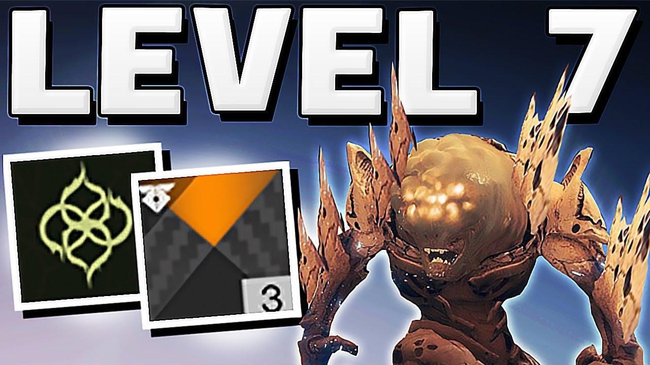 Destiny 2 - HOW TO GET TO LEVEL 7 ESCALATION PROTOCOL LAST BOSS FULL KILL !!