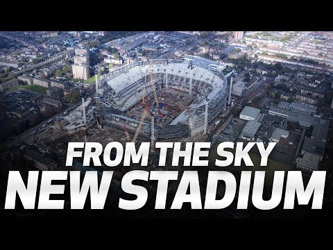 ✈️ 🏟️ FLY OVER SPURS NEW STADIUM!