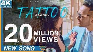 Tattoo G sandhu {Full Hd Video}   Desi Crew   latest New Songs 2018   Eagle Music