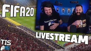 🔴 FIFA 20 CAREER! LIVESTREAM | TechItSerious