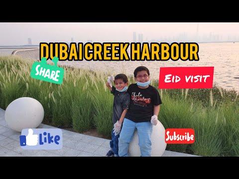 Dubai Creek Harbour Eid First Day visit