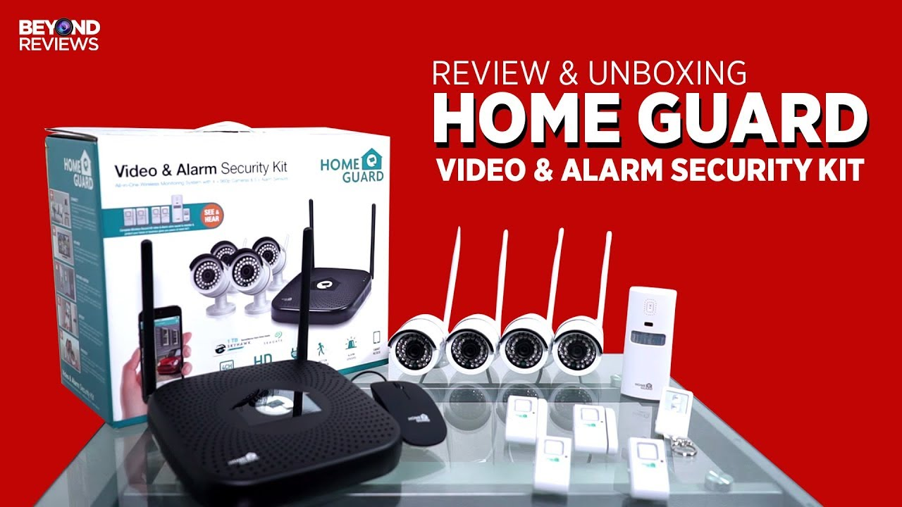 Review And Unboxing Home Guard Cctv Youtube