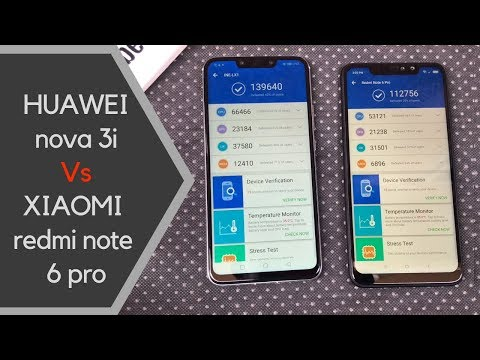 HUAWEI nova 3i (P Smart+) vs XIAOMI Redmi Note 6 Pro Speed Test & RAM | Kirin 710 vs Snapdragon 636