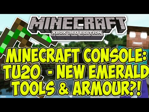 how to make emerald armor in minecraft xbox