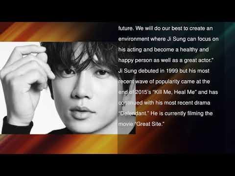 Ji Sung Renews Contract With Namoo Actors