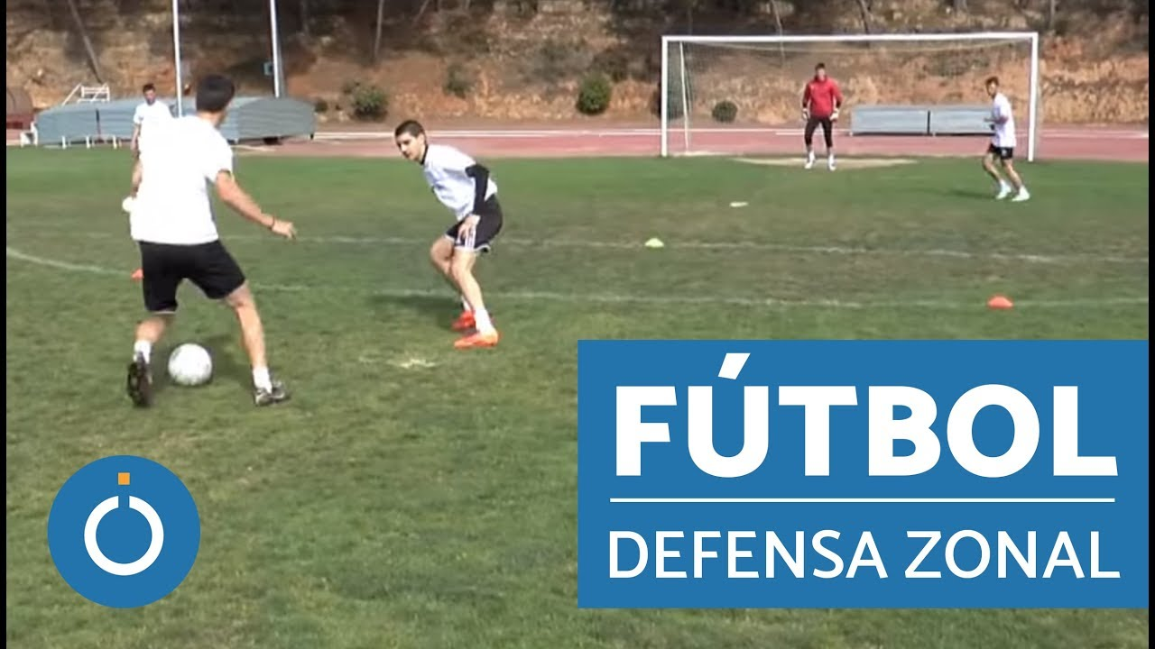 d93bc1ee1fb69 Entrenamiento en fútbol - defensa en zona - YouTube