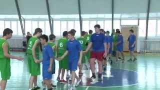 Батайск соревнование по баскетболу гимназия №21 & школа №5