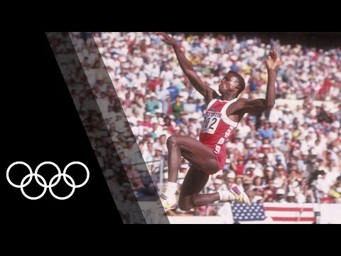 Carl Lewis - Long Jump Olympic Champion