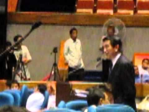 Roilo Golez interpellation, Cong. Pol Bataoil, 24 August 2010 (1)