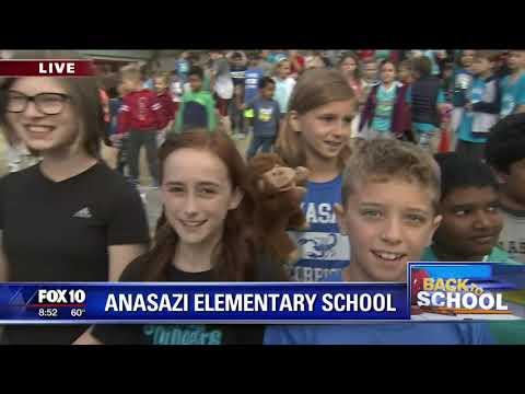 Back to school: Anasazi Elementary School