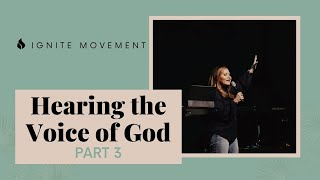 Hearing the Voice of God Part 3 | Apostle Patty Valenzuela